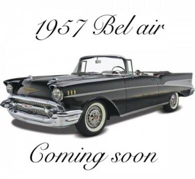 1957 Chevrolet Bel Air for sale at MGM CLASSIC CARS in Addison IL