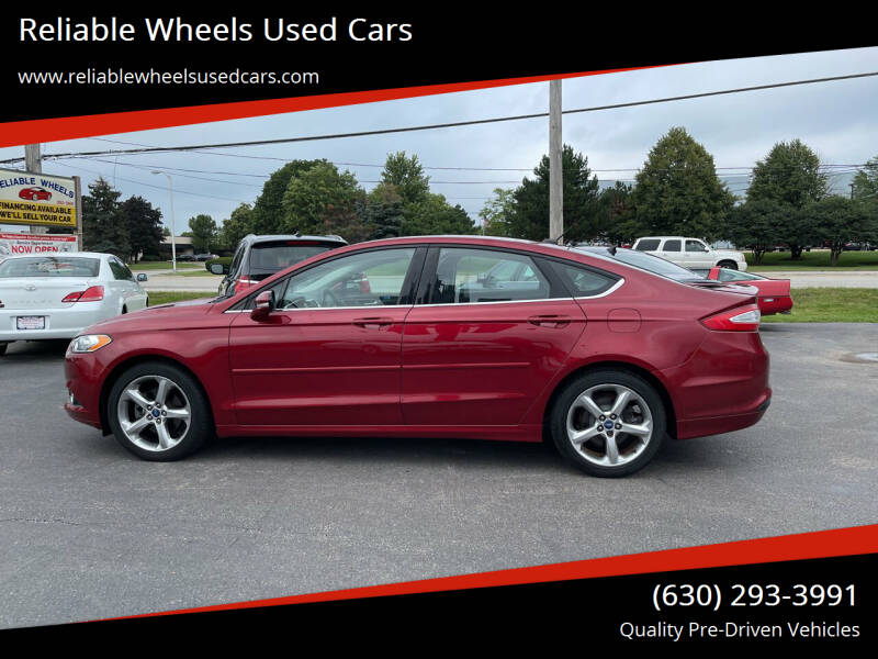 2013 Ford Fusion for sale at Reliable Wheels Used Cars in West Chicago IL