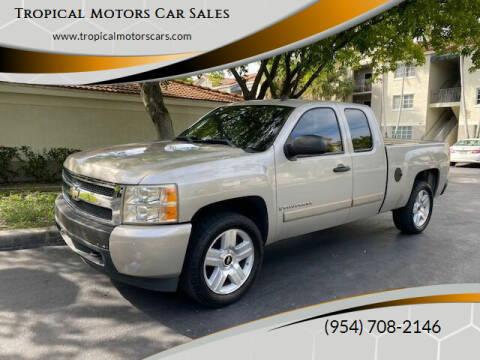 2008 Chevrolet Silverado 1500 for sale at Tropical Motors Car Sales in Deerfield Beach FL