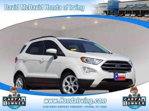 2019 Ford EcoSport for sale at DAVID McDAVID HONDA OF IRVING in Irving TX