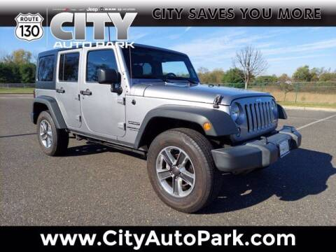 2017 Jeep Wrangler Unlimited for sale at City Auto Park in Burlington NJ