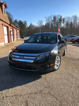 2011 Ford Fusion for sale at Hornes Auto Sales LLC in Epping NH