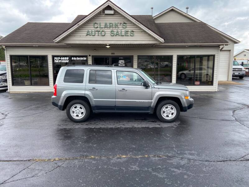 2014 Jeep Patriot for sale at Clarks Auto Sales in Middletown OH