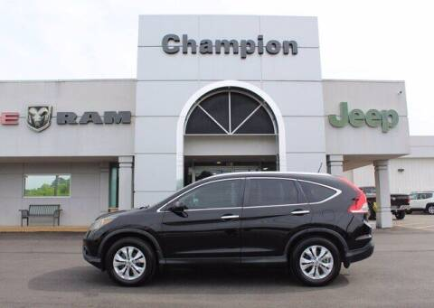 2013 Honda CR-V for sale at Champion Chevrolet in Athens AL