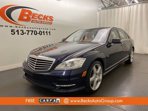 2012 Mercedes-Benz S-Class for sale at Becks Auto Group in Mason OH