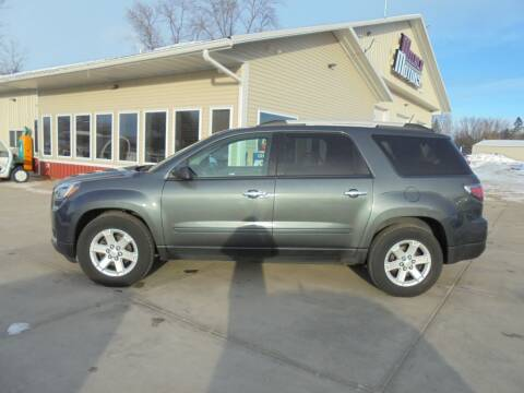 2013 GMC Acadia for sale at Milaca Motors in Milaca MN