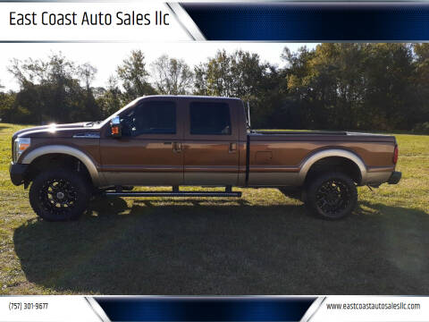 2012 Ford F-350 Super Duty for sale at East Coast Auto Sales llc in Virginia Beach VA