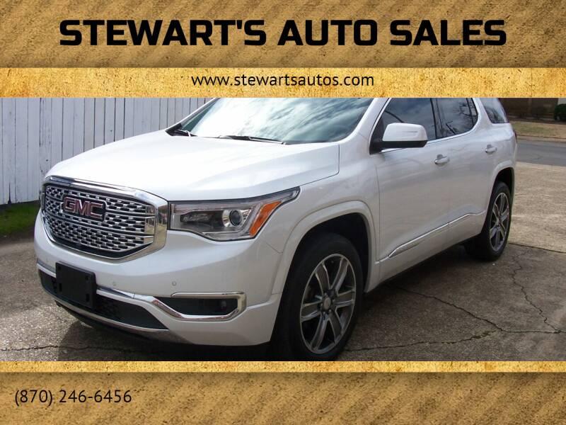 2017 GMC Acadia for sale at Stewart's Auto Sales in Arkadelphia AR