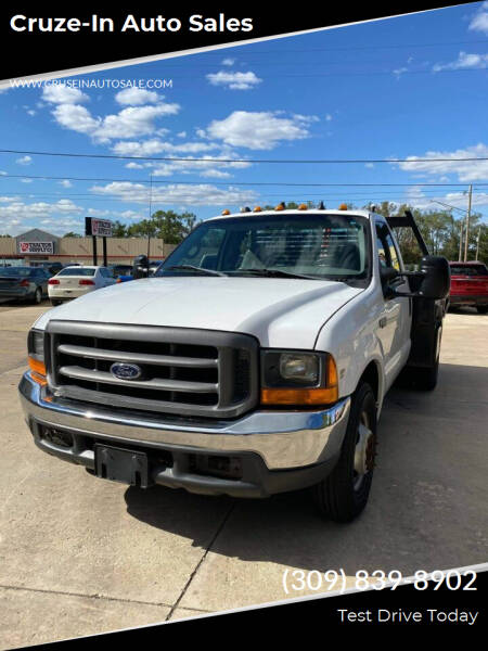 1999 Ford F-350 Super Duty for sale at Cruze-In Auto Sales in East Peoria IL