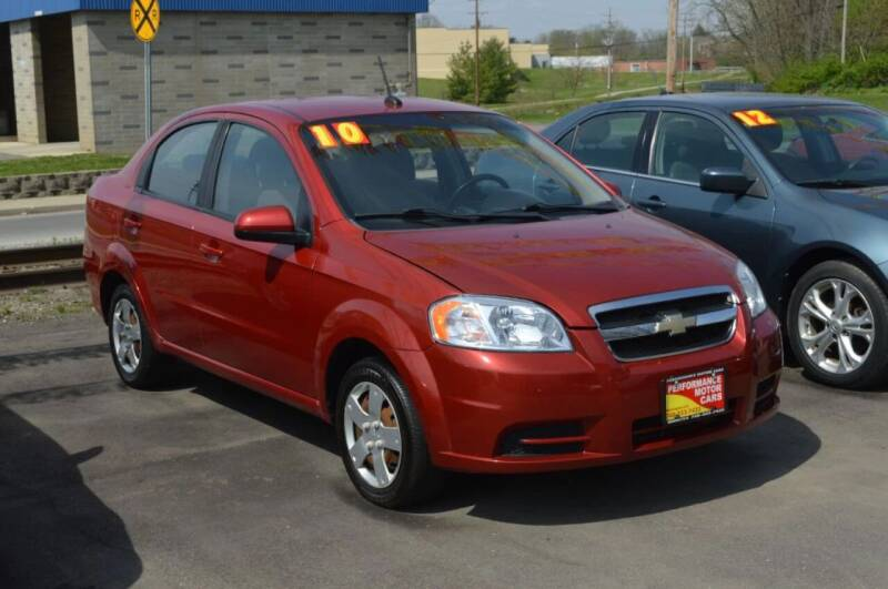2010 Chevrolet Aveo for sale at Performance Motor Cars in Washington Court House OH