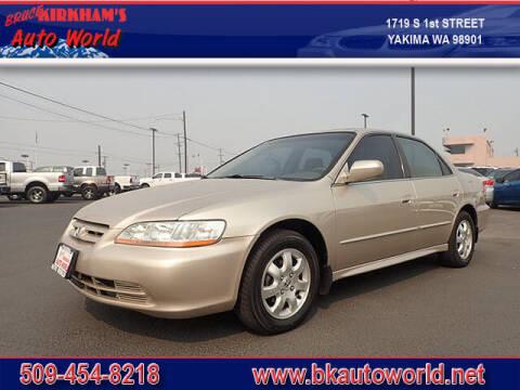 2002 Honda Accord for sale at Bruce Kirkham Auto World in Yakima WA