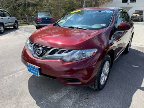 2011 Nissan Murano for sale at Advance Auto Group, LLC in Chichester NH
