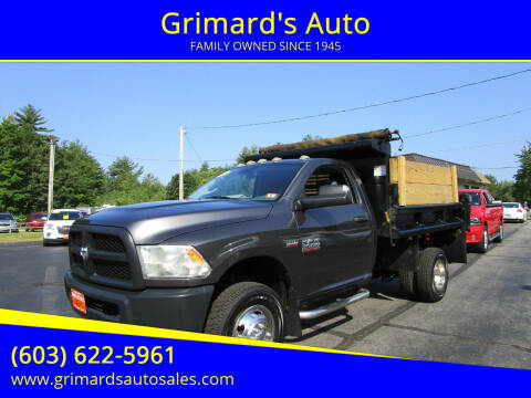2014 RAM Ram Chassis 3500 for sale at Grimard's Auto in Hooksett NH