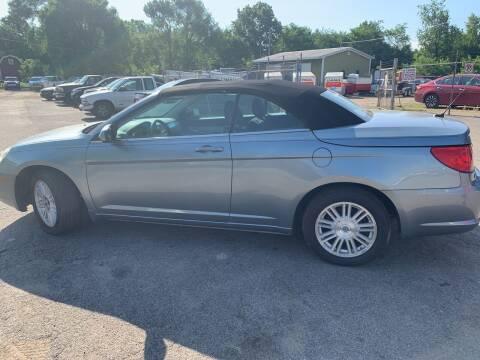 2009 Chrysler Sebring for sale at CHUCKS AUTO SERVICE LLC in Sturgis MI