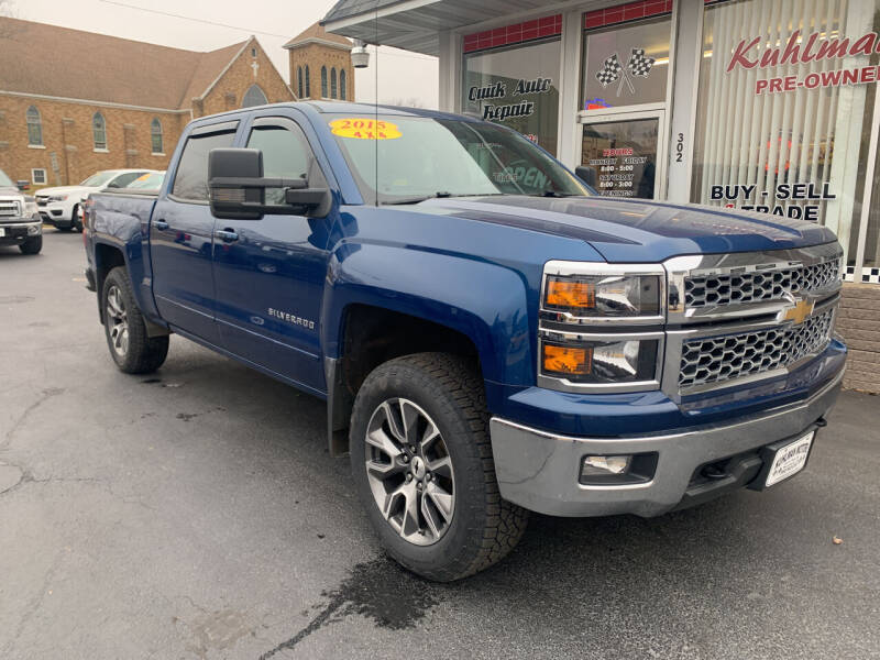 2015 Chevrolet Silverado 1500 for sale at KUHLMAN MOTORS in Maquoketa IA