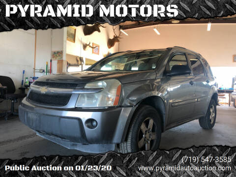 2005 Chevrolet Equinox for sale at PYRAMID MOTORS - Pueblo Lot in Pueblo CO