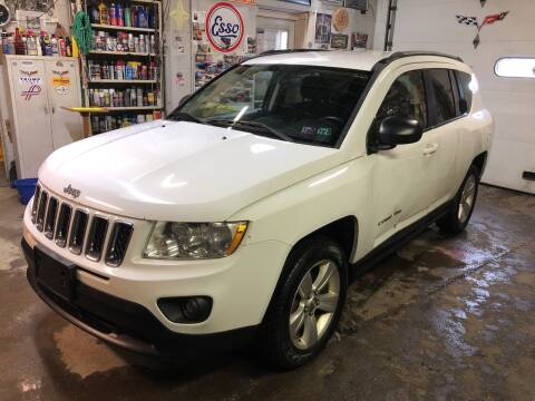2011 Jeep Compass for sale at STEEL TOWN PRE OWNED AUTO SALES in Weirton WV