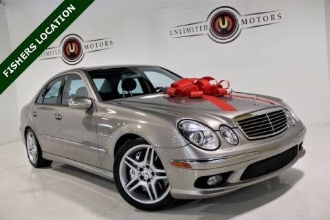 2005 Mercedes-Benz E-Class for sale at Unlimited Motors in Fishers IN