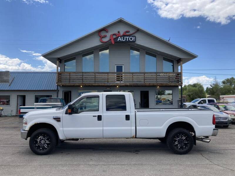 2010 Ford F-250 Super Duty for sale at Epic Auto in Idaho Falls ID