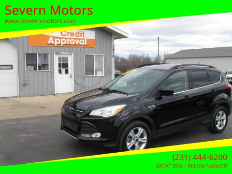 2016 Ford Escape for sale at Severn Motors in Cadillac MI