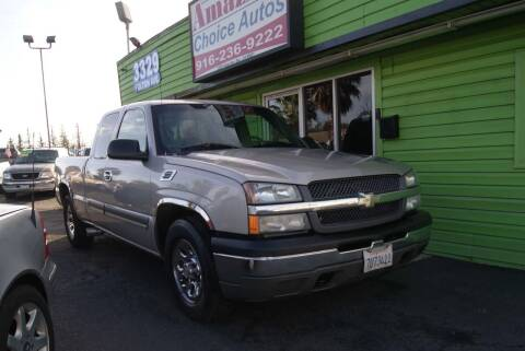 2005 Chevrolet Silverado 1500 for sale at Amazing Choice Autos in Sacramento CA
