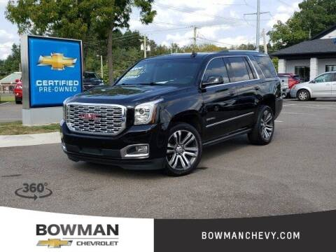 2020 GMC Yukon for sale at Bowman Auto Center in Clarkston MI