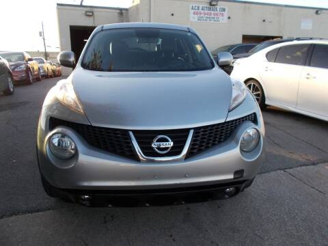 2012 Nissan JUKE for sale at ACH AutoHaus in Dallas TX