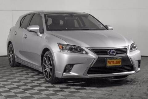 2015 Lexus CT 200h for sale at Washington Auto Credit in Puyallup WA