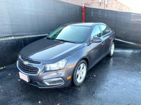 2015 Chevrolet Cruze for sale at McManus Motors in Wheat Ridge CO