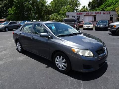 2010 Toyota Corolla for sale at DONNY MILLS AUTO SALES in Largo FL