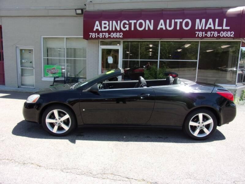2006 Pontiac G6 for sale at Abington Auto Mall LLC in Abington MA