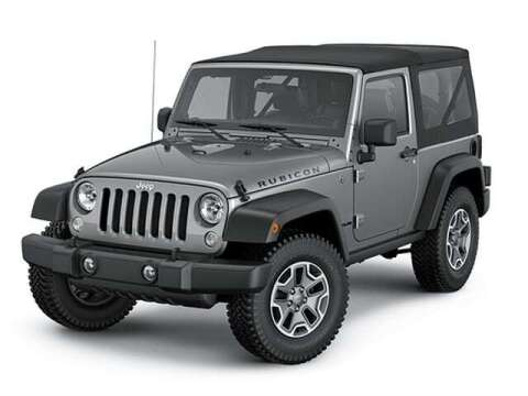 2014 Jeep Wrangler for sale at West Motor Company in Hyde Park UT