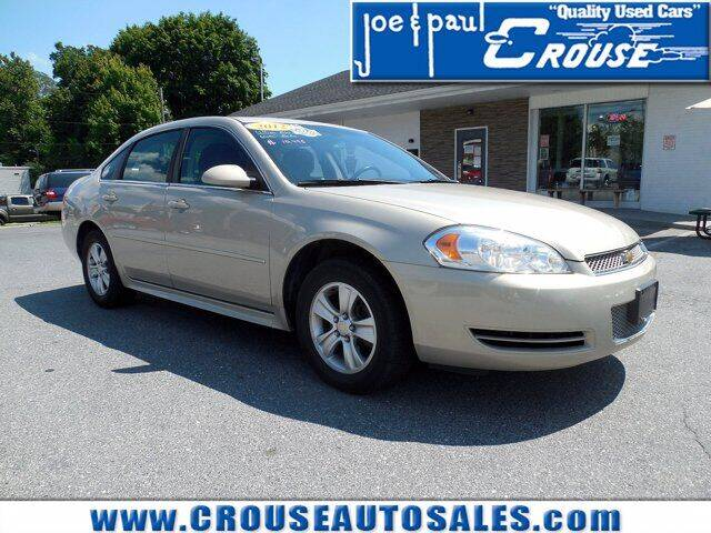 2012 Chevrolet Impala for sale at Joe and Paul Crouse Inc. in Columbia PA