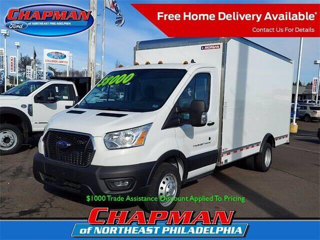 2020 Ford Transit Chassis Cab for sale at CHAPMAN FORD NORTHEAST PHILADELPHIA in Philadelphia PA