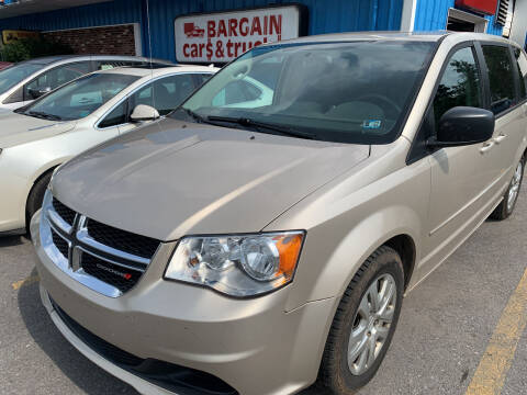 2016 Dodge Grand Caravan for sale at BURNWORTH AUTO INC in Windber PA