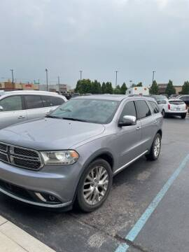 2015 Dodge Durango for sale at COYLE GM - COYLE NISSAN - New Inventory in Clarksville IN