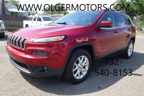 2015 Jeep Cherokee for sale at Olger Motors, Inc. in Woodbridge NJ