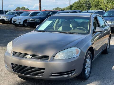 2007 Chevrolet Impala for sale at Atlantic Auto Sales in Garner NC