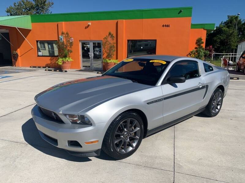 2012 Ford Mustang for sale at Galaxy Auto Service, Inc. in Orlando FL