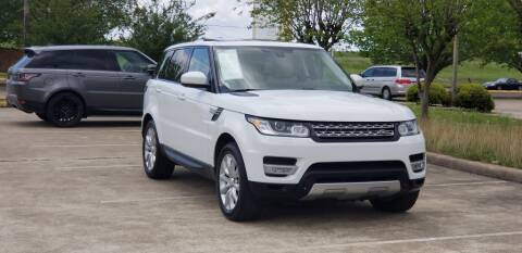 2014 Land Rover Range Rover Sport for sale at America's Auto Financial in Houston TX