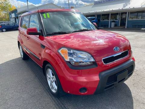 2011 Kia Soul for sale at HACKETT & SONS LLC in Nelson PA