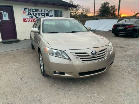 2007 Toyota Camry for sale at Excellent Autos of Orlando in Orlando FL