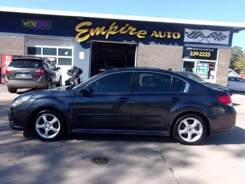 2012 Subaru Legacy for sale at Empire Auto Sales in Sioux Falls SD