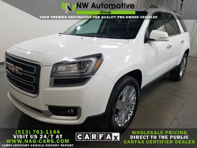 2017 GMC Acadia Limited for sale at NW Automotive Group in Cincinnati OH