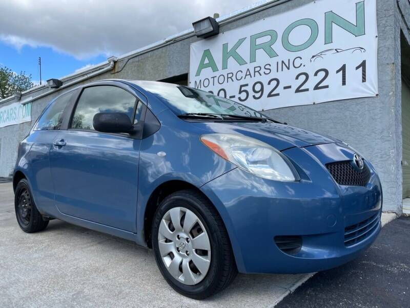 2008 Toyota Yaris for sale at Akron Motorcars Inc. in Akron OH