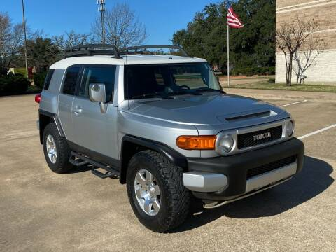 2007 Toyota FJ Cruiser for sale at Pitt Stop Detail & Auto Sales in College Station TX