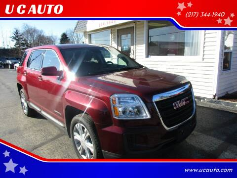2017 GMC Terrain for sale at U C AUTO in Urbana IL
