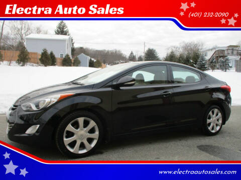 2013 Hyundai Elantra for sale at Electra Auto Sales in Johnston RI