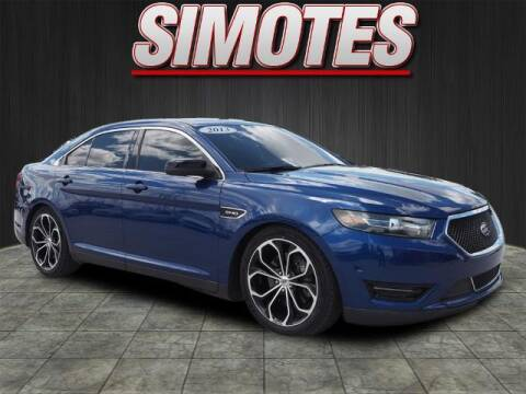 2013 Ford Taurus for sale at SIMOTES MOTORS in Minooka IL