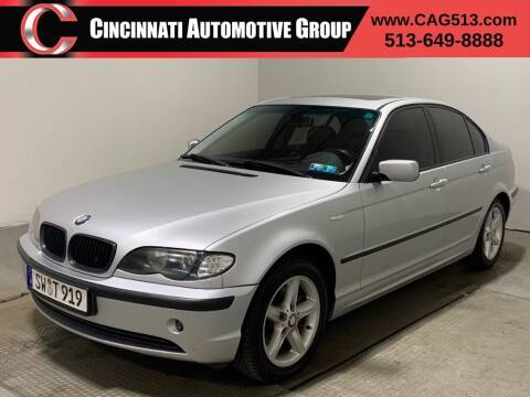 2005 BMW 3 Series for sale at Cincinnati Automotive Group in Lebanon OH